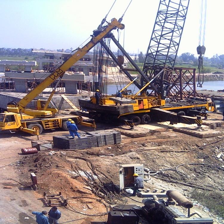 International Coastal Road - Section (3) El-Ananeia Bridge, Egypt