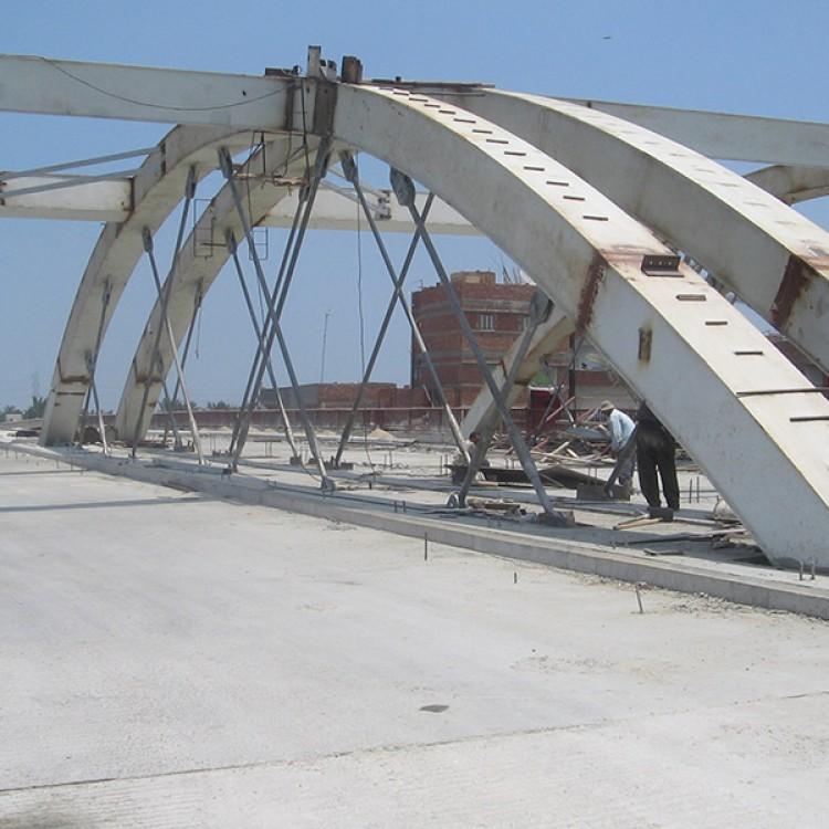 International Coastal Road Bridge Crossings, Egypt