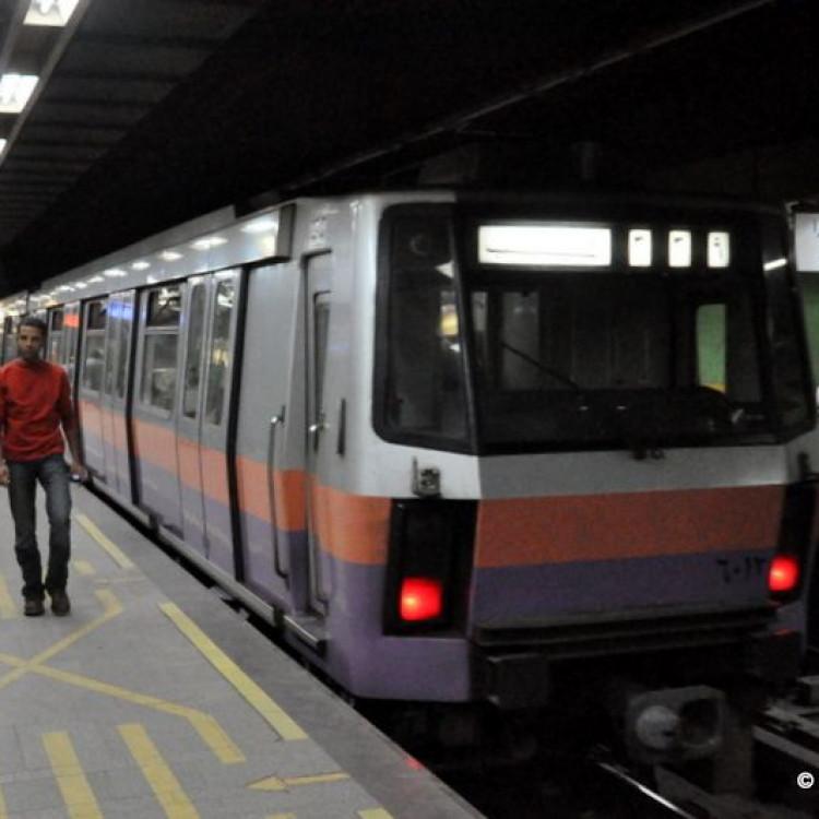 Dokki Station, Greater Cairo Metro, Egypt