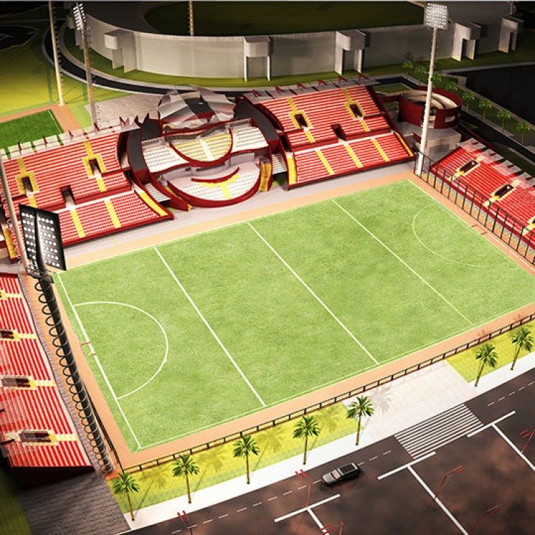 Hockey Field Stadium, Qatar