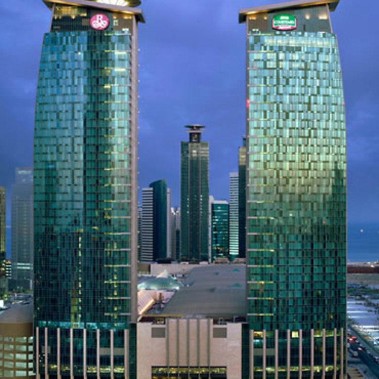Marriot Courtyard, Qatar