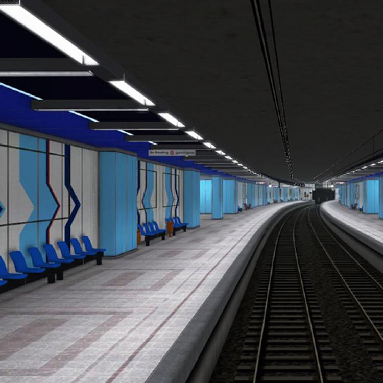 Sadat Station, Greater Cairo Metro, Egypt