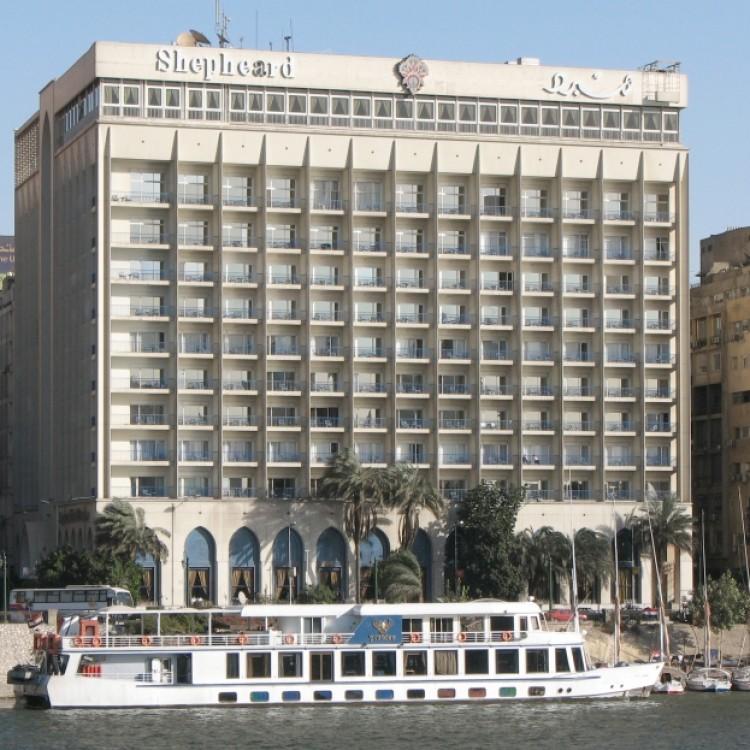 Shepheard Hotel, Egypt